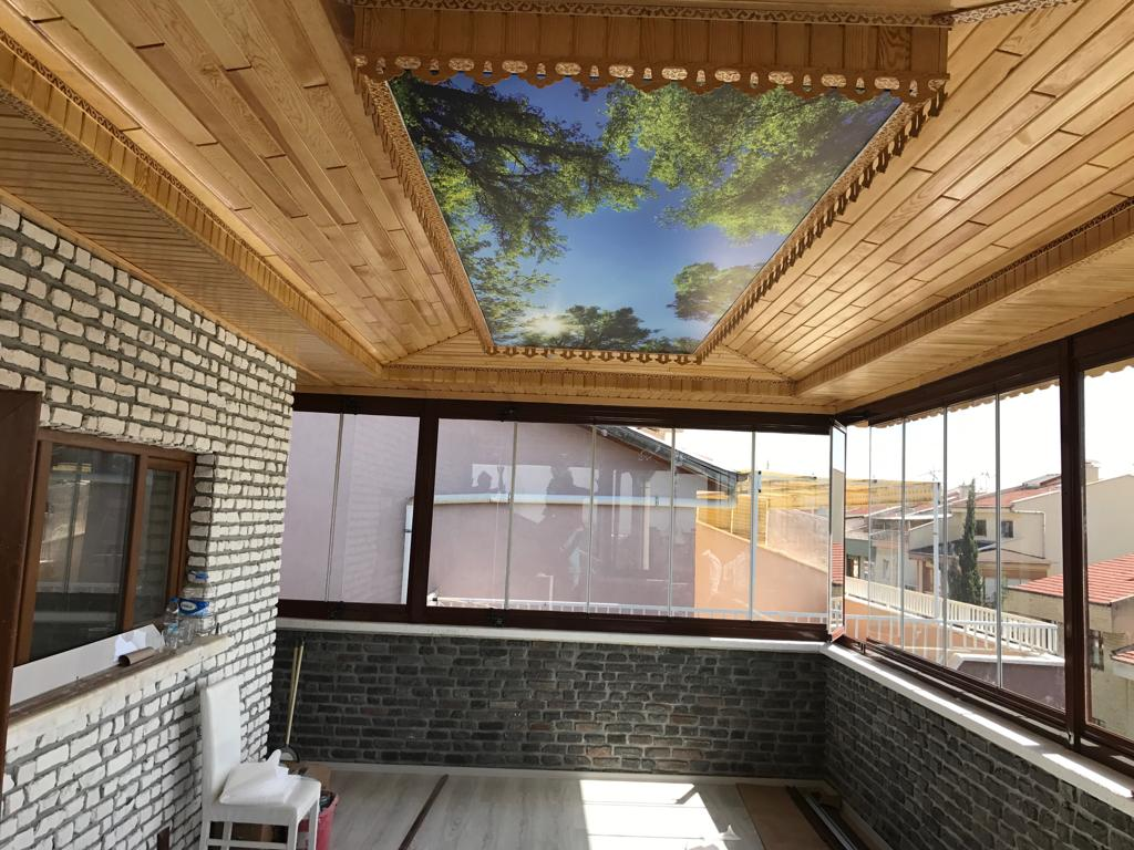 Güneşten faydalanmak herkesin hakkıdır. Cam balkon bunu gerçekleştirir...