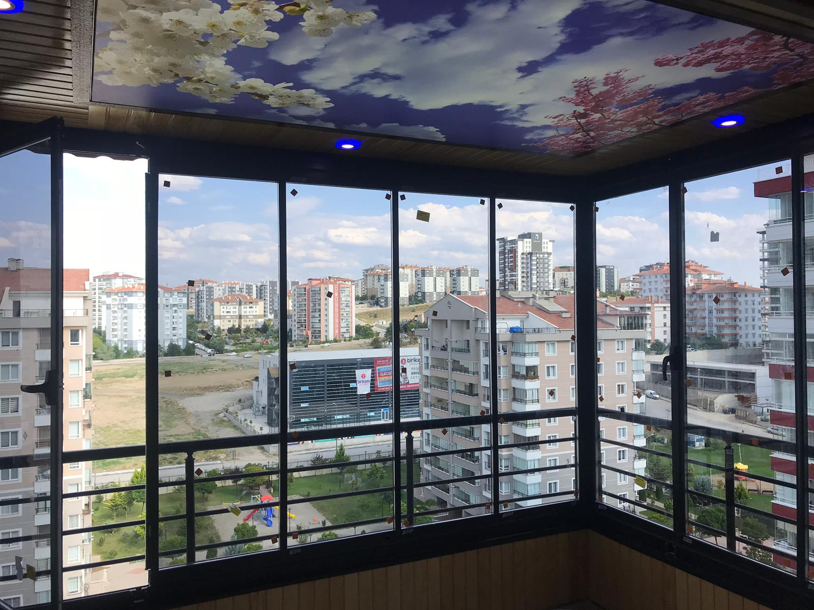 hbsb sürgü sistemli cam balkon